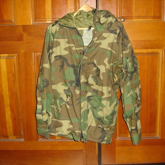 7453bcfbd2c49 Equa Industries, Inc. Jackets & Coats   Military Woodland Sz Med Reg ...